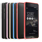 Luxury Slim Metal Aluminium Alloy Arc Bumper Frame Case Cover for ASUS Zenfone 5