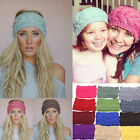 New Crochet Headband Knit Hairband Winter Women Ear Warmer handmade Headwrap