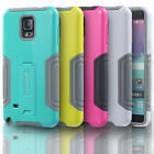 Shockproof Hybrid Dual Layer Case Cover w/ Kickstand for Samsung Galaxy Note 4