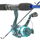 South Bend Worm Gear Fishing Rod & Spinning Reel Combo 2 Pc Pole