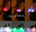 Hot Selling  One Pair Light Led Blinking Studs Earrings Accessories for Party