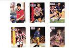 Pro Set cards signed Atkin, Armstrong, Martin, Blake, Scully, Bradshaw