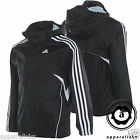 Adidas Performance YB J 3S Rain Jacket Boys Black FZ Hooded Junior Wind Breaker