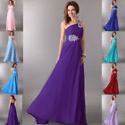 2015 Empire Waist Long Formal Evening Gown Ball Prom Party Bridesmaid Maxi Dress