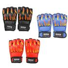 PU Leather MMA Grappling Gloves Boxing Hand Wraps Punch Bag Fight Muay Thai Gym