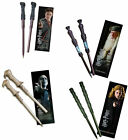 Harry Potter Wand Pen And Bookmart Set - New + Official In Sealed Pack Voldemort