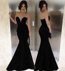 2015 New Lady Long MERMAID Bridesmaid Evening Formal Party Ball Gown Prom Dress