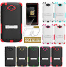 NEW RUGGED TRI-SHIELD SKIN HARD CASE COVER STAND FOR MOTOROLA DROID TURBO XT1254