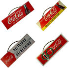 Coca Cola / Coke: Vintage Style Retro Hanging Wooden Sign Wall Art New Official