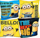 """Despicable Me Minions 14"""" Filled Cushion Official Pillow 35x35cm 4 Designs"""
