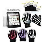 Skeleton Ghost Warm Touch Screen Gloves for Smartphone Samsung iPhone Table PC