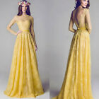 2015 New Lady Maxi Lace Dress Bridesmaid Party Formal Cocktail Prom Long Dresses