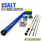 NEW - Sage Salt 1290-4 Fly Rod Outfit - FREE SHIPPING!