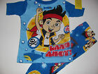 New Disney Jake and the Never Land Pirates Toddler pajamas 12m 18m 24m 3t 4t 5t