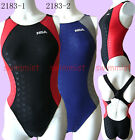 NWT NSA 2183 COMPETITION TRAINING RACING SHARKSKIN SWIMSUIT ALL SIZE [FREE SHIP]