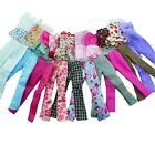 Lot 10pcs = 5 Blouse 5 Trousers Fashion Casual Clothes Outfits For Barbie Doll