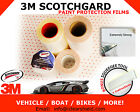 "4""x12"" to 4""x216"" 3M Scotchgard Paint Protection Films - Clear Bra / No Chips"