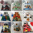 OFFICIAL LEGO SINGLE JUNIOR DUVET COVERS BEDDING – NINJAGO, NEXOO, BATMAN & MORE