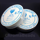Strong & Stretchy cord - Clear silicone stretch elastic thread - Choice of sizes
