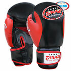 Farabi Kids Junior Boxing Gloves Muay Thai Training Punching Bag Mitts Red