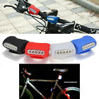 FM Bike Bicycle 7 LED Silicone Frog Head Front Lamp Safety Warning Rear Light US