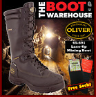 Oliver. 65691, AT's Steel Toe Safety Mining Work Boots. Chemical Resistant  NEW