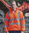 WESSEX 4 X 4 RESPONSE  HI VIS FLEECE JACKET LOGO TO FRONT AND BACK