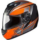 HJC AL CS-R2 Seca Neon Orange Black MC-6 Full Face Motorcycle Riding Helmet