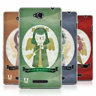 HEAD CASE CHRISTMAS ANGELS SILICONE GEL CASE FOR SONY XPERIA C C2305