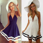 Sexy Women' Girls' Cute Party Cocktail Short Mini Strap Dress Beach Sundress Hot