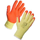Superior 12 Pairs Latex Rubber Builders Work Safety Handlers Grip Gloves Garden