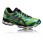 ASICS Gel-Cumulus 16 Mens Green Lightweight Cushioned Running Sports Shoes New