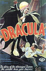 Vintage 1930's Dracula Movie Poster A3 / A2 Print