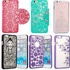 New Damask Vintage Floral Pattern Rubberized Hard Case Cover For iphone 6 / 6+