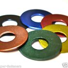 M6 x 25mm GWR Colourfast® Penny Washers - A2 Stainless Steel - Coloured Washer