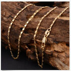 HOT SALE 1Pcs 18-26inch Fashion 18K Yellow GOLD filled Rolo CHAIN NECKLACE EW