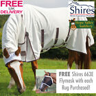 Shires Sweet Itch (Sweet-Itch) Combo Fly Rug (9321) **FREE Fly Mask**