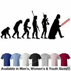 Star Wars Evolution of Darth Vader Sith T-Shirt Avail in 7 Colors in M/W/Y Sizes
