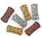5Pcs/20Pcs Tibetan Silver Flower 3-Hole Spacer Bar Beads Charms , 26x11.5mm