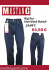 Mustang Big Sur Blue Black Stretch W38/L32 nur 64,50€