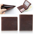 "New Men's Genuine Leather "" Inside Credit Card Space "" Wallet Purse #MW031"