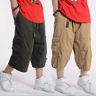 New Casual Men's Cargo Baggy Ovesize Loose Leisure Shorts Military Trousers Top