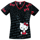 Hello Kitty Cherokee Tooniforms V Neck Scrub Top  6775 CB HKCU