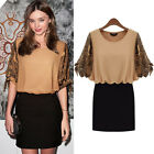 Women Batwing Sleeve Totems Printing Party Cocktail Short Mini Dress Ornate