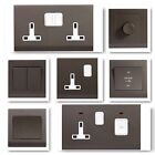 Simplicity Screwless Charcoal Range - Light Switches, Plug Sockets, Cooker etc