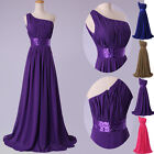 FINAL CLEARANCE!! LONG Prom Dress Chiffon Formal Bridemaid Masquerade Party gown