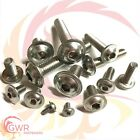 M6 A2 Stainless Flanged Socket Button Head Screws - 6mm Flange Bolt Allen Key