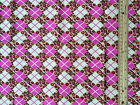 Argyle check HOME DECOR WEIGHT : 100% cotton fabric FINAL 1 metre length