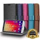 Vintage Leather Folio Folding Wallet Case Cover w/ Stand Card Slots For LG G4