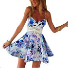 Sexy Womens Summer Casual Sleeveless Party Evening Cocktail Short Mini Dress New
